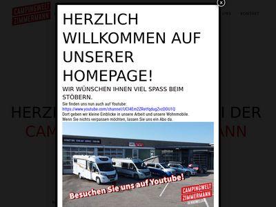Autohaus Zimmermann Wohnmobile Rheinfelden