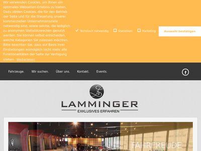 Autohaus Lamminger- Exclusives Erfahren