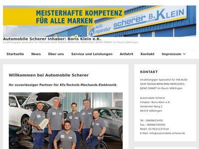Automobile Scherer Inh. B. Klein