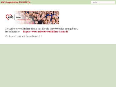 Arbeiterwohlfahrt e.V. Ortsverein Haan