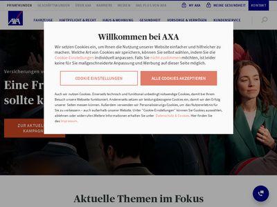 AXA Versicherung AG Rüdiger Hempe