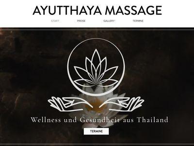 AYUTTHAYA Massagen & Wellness