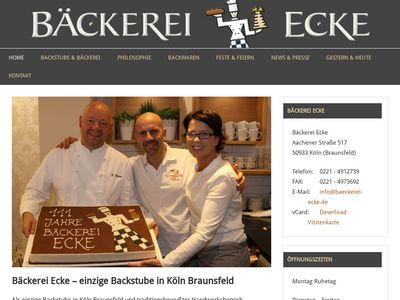 Bäckerei Ecke