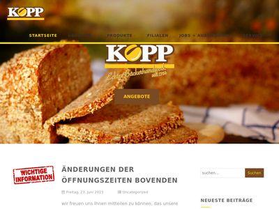 Bäckerei Kopp GmbH