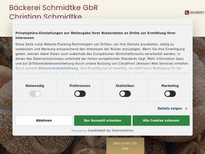 Bäckerei Schmidtke GbR Rolf Schmidtke