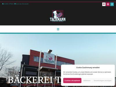 Bäckerei Hans-Jürgen Tackmann