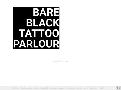 Bare Black Tattoo Parlour