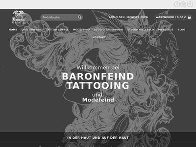 Baronfeind Tattooing Mammut Tattoo