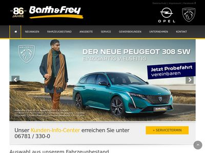 Barth & Frey - Ihr Opel Autohaus in Id