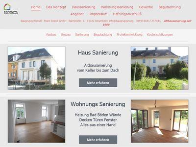 Baugruppe Reindl Rosenheim