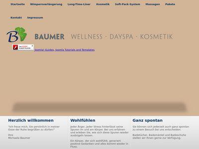 Baumer Wellnes Spa Michaela Baumer