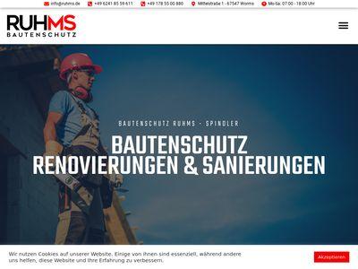 Maik Spindler Bautenschutz RUHMS