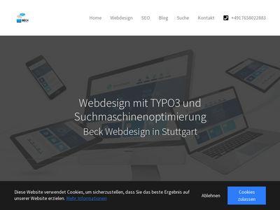 Beck Webdesign