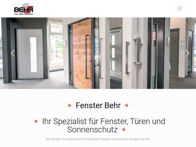 Behr GmbH & Co Fenster Türen