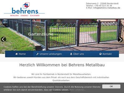 Behrens Metallbau + Schlosserei