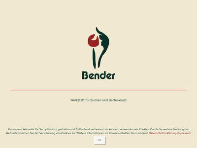 Bender Blumen und Gartenkunst