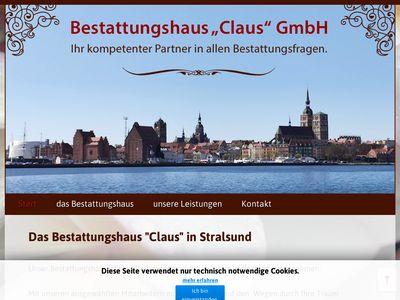 Bestattungshaus Claus GmbH Bestattungsinsti