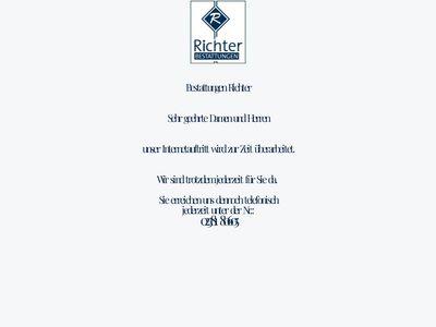 Bestattungshaus Richter, Inh. Mathias Tomkowitz