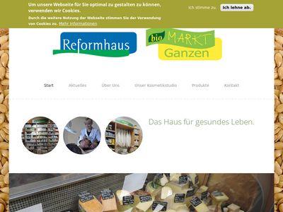 Reformhaus Biomarkt Ganzen