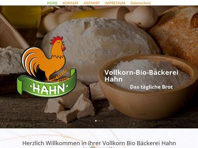 Egon Vollkorn Bio Hahn