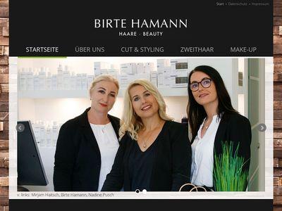 BIRTE HAMANN Haare - Beauty
