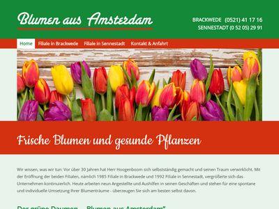 Blumen aus Amsterdam