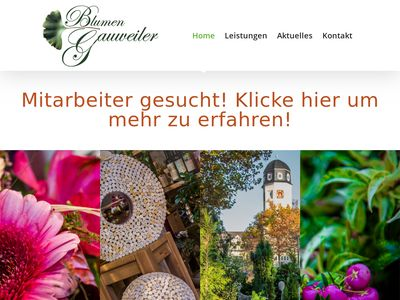 Blumen Gauweiler