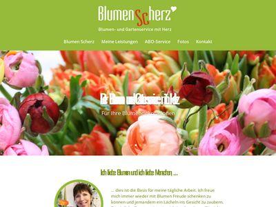 Blumen Scherz