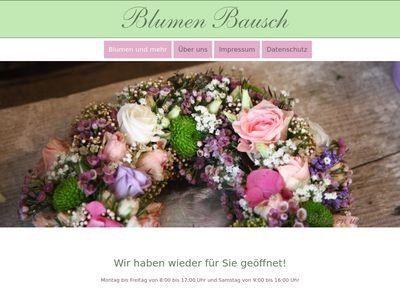 Blumen Bausch