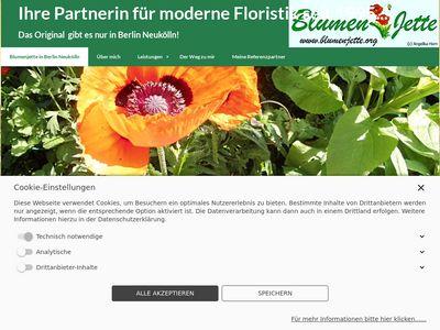 Blumen Jette in Berlin Neukölln