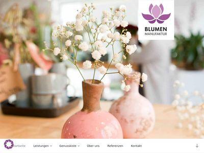 Blumenmanufaktur Augsburg