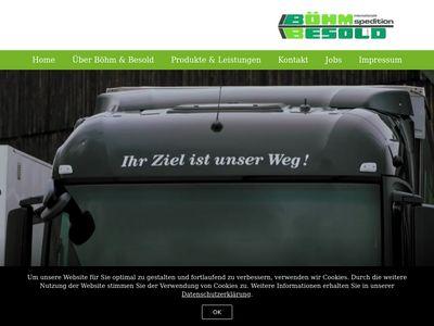 Int. Spedition Böhm u. Besold GmbH