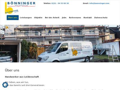 Bönninger Maler GmbH & Co. KG