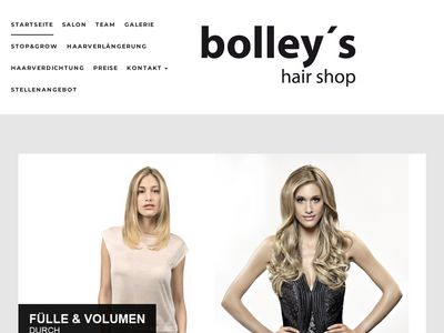 Bolley hair shop