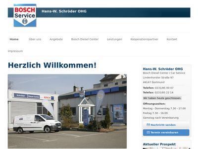 Auto-Elektrik Bosch-Service Schröder