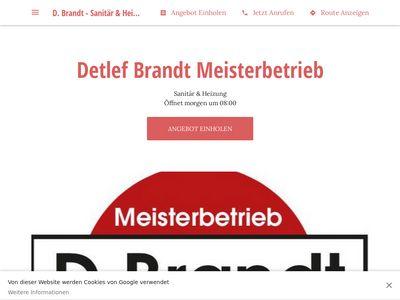 Detlef Brandt Sanitär u. Heizung