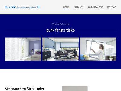 Bunk fensterdeko GmbH