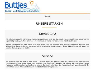 Buttjes Sanitär und Heizungs- technik GmbH