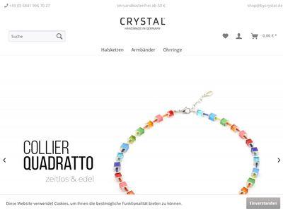 Crystal Handgefertigte Schmuck