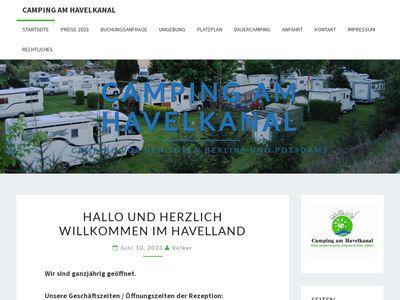 Campingplatz Zeestow