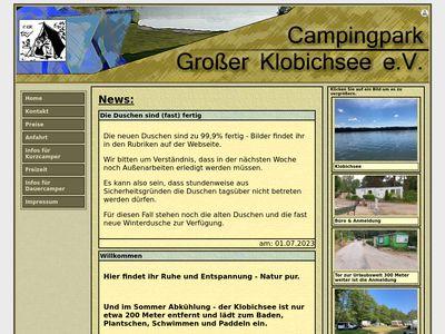 Campingpark Grosser Klobichsee