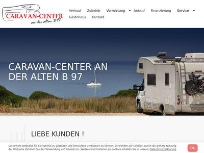 Caravan-Center an der B 97