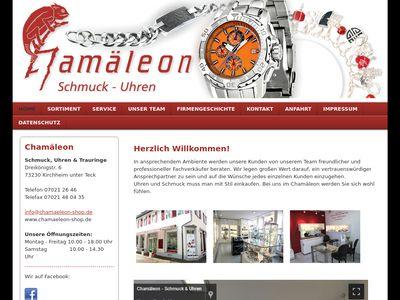 Chamäleon - Schmuck und Uhren