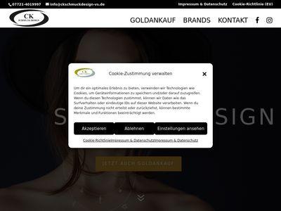 CK Schmuck Design - VS