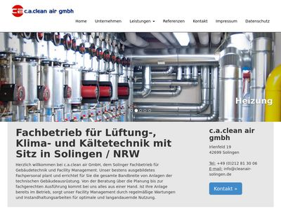 C.A. Clean Air GmbH