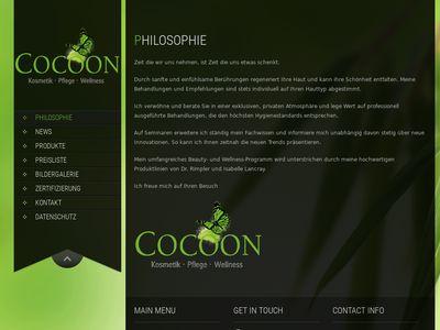 Cocoon Kosmetik Pflege Wellness