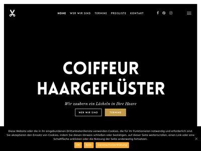 Coiffeur-haargefluester.de/