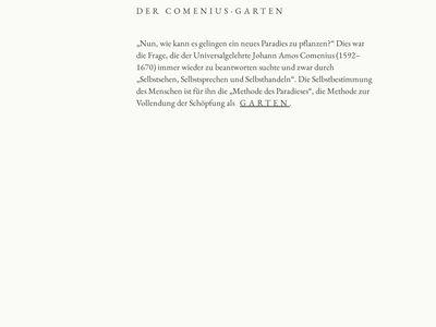 Comenius-Garten