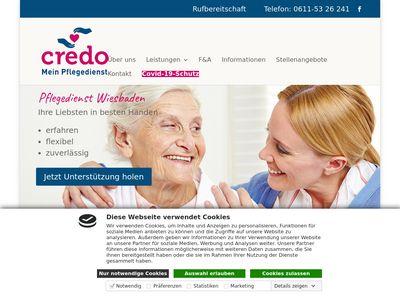 Credo Krankenpflege & Seniorenbetreuung