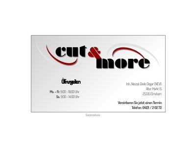 Cut + more